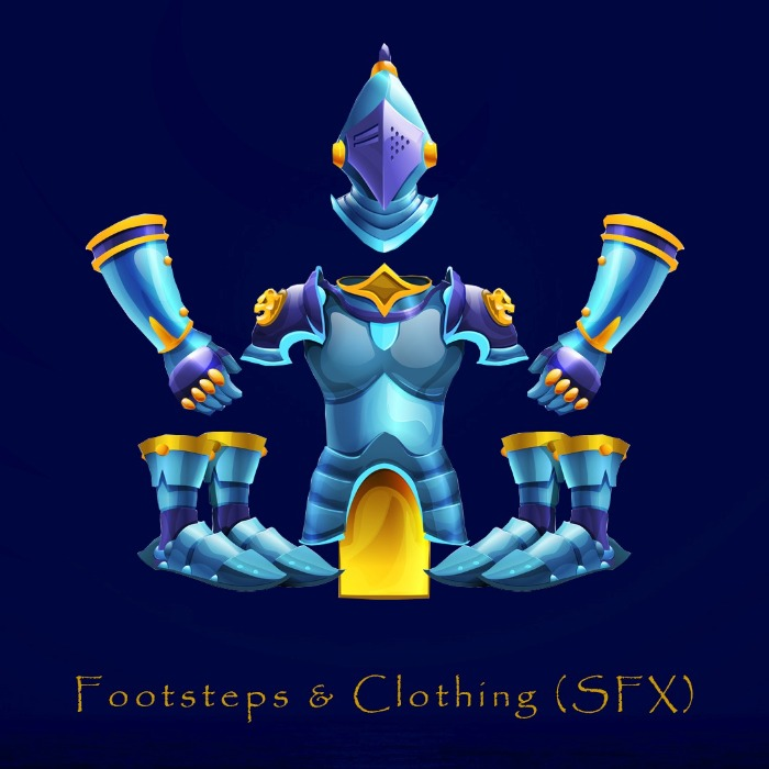 Footsteps & Clothing (SFX)