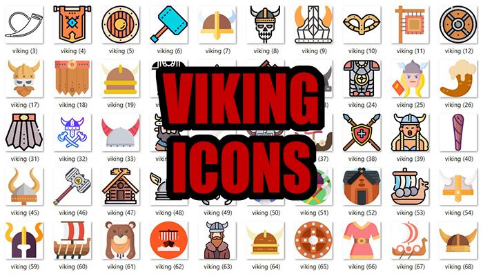 Viking Icons Pack