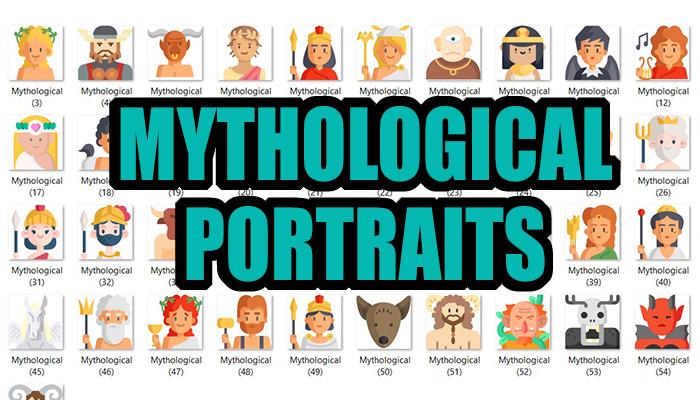 Mythological Portraits