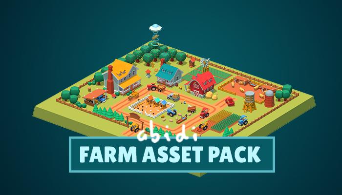 Cute Farm Asset – Low poly