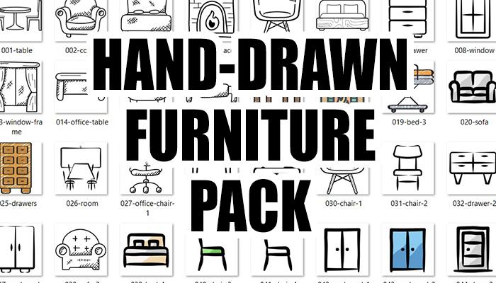 Hand Drawn Furniture Pack