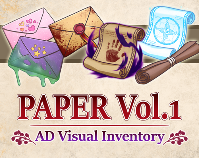 AD Visual Inventory: Paper Vol.1