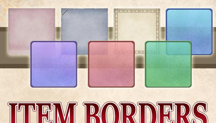 AD Visual Inventory: Free Item Borders