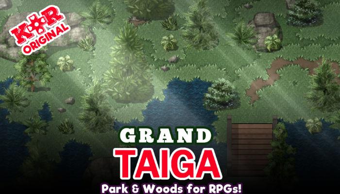 Grand Taiga Tileset for RPGs