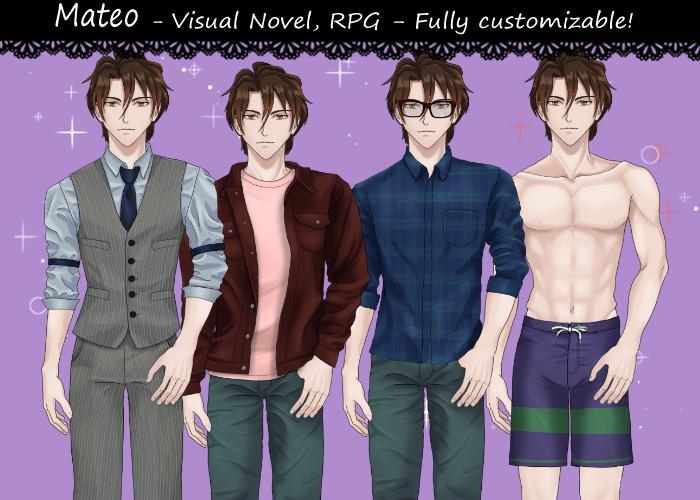 Mateo-visual novel character