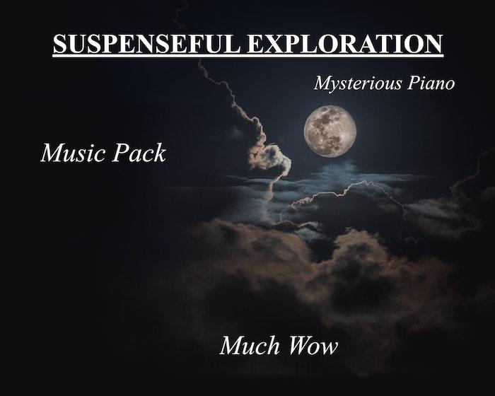 Suspenseful Exploration Piano