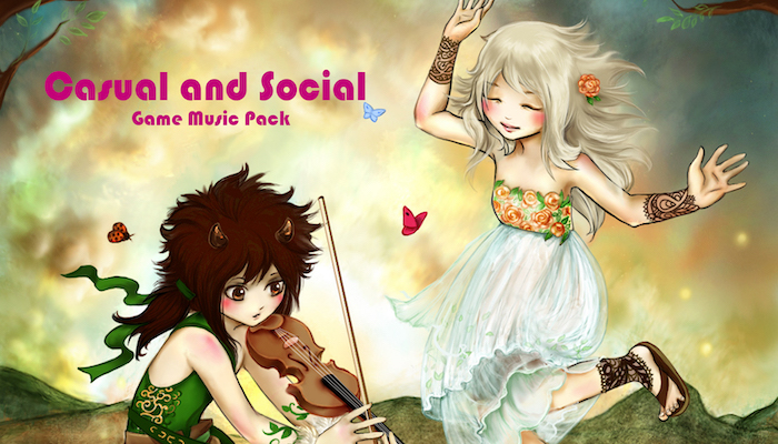 Casual and Social Games Music Pack