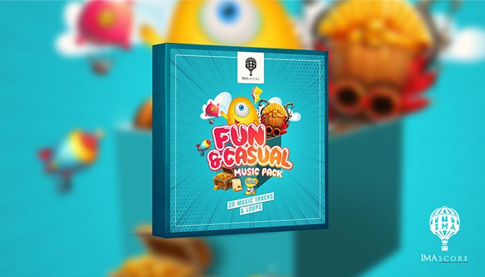 Fun & Casual Music Pack