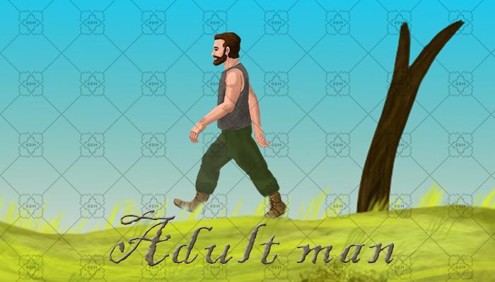 Adult man – RPG/Quest/Platformer