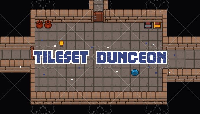 tileset dungeon game assets 16×16