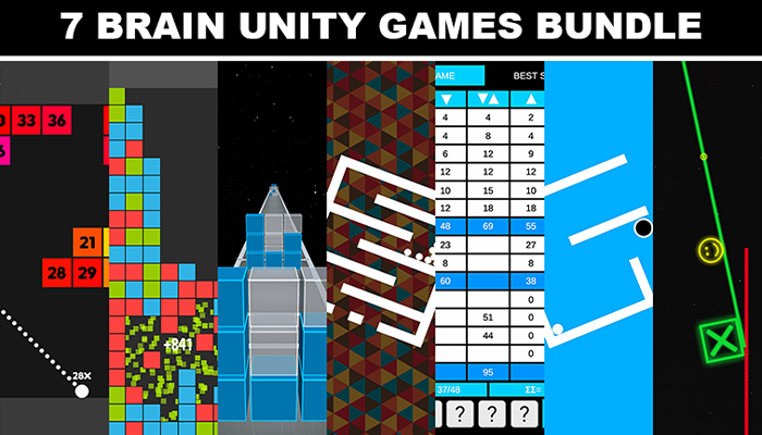 7 Brain Puzzle Unity Games Bundle
