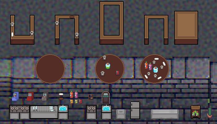 2D Pixel Art Bar