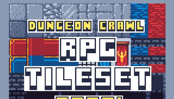 RPG/Dungeon crawl tileset