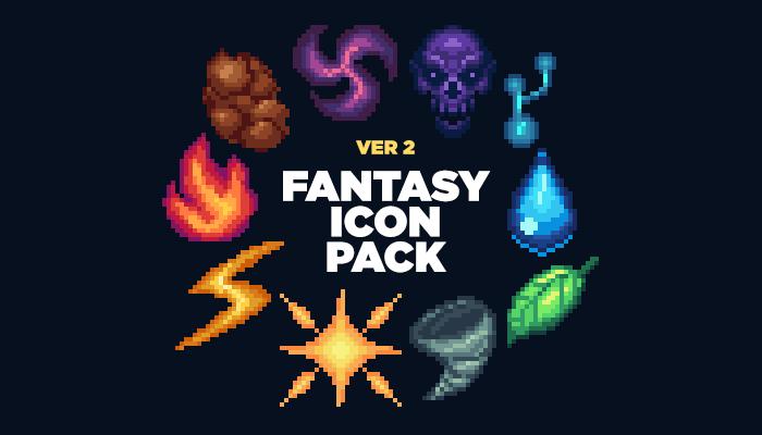 Fantasy Icon Pack