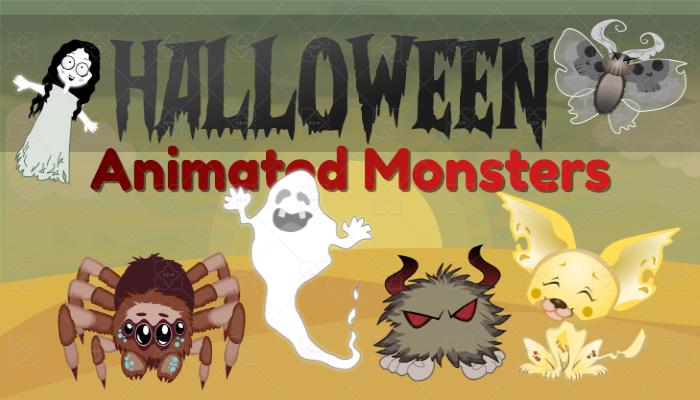 Halloween Animated Monsters