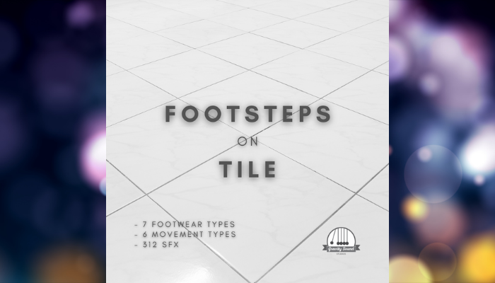 Footsteps on Tile