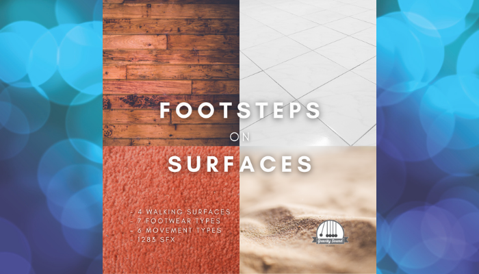 Footsteps on Surfaces