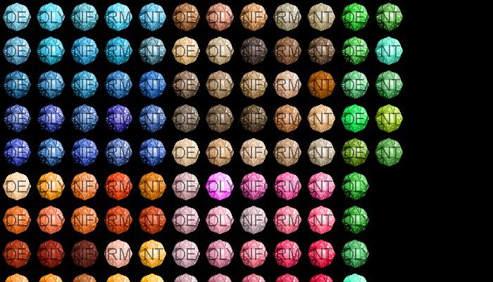 Double Cut Gemstones [48×48]