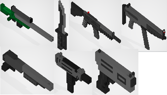 Voxel Weapon Pack