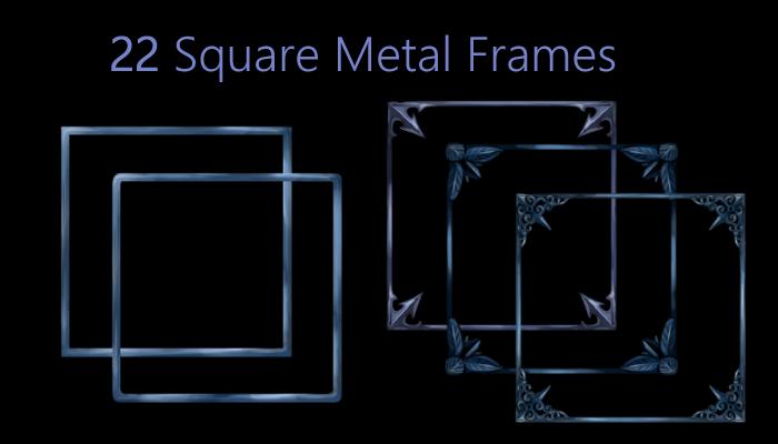 Square Metal Frame Pack