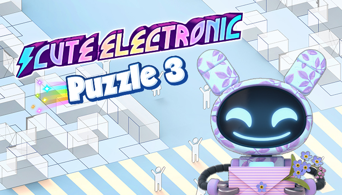 Cute Electronic Puzzle Music Pack 3