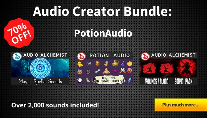 Audio Creator Bundle – PotionAudio