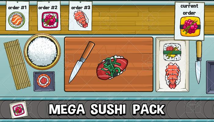 Mega sushi pack