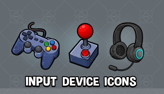 Input device icons