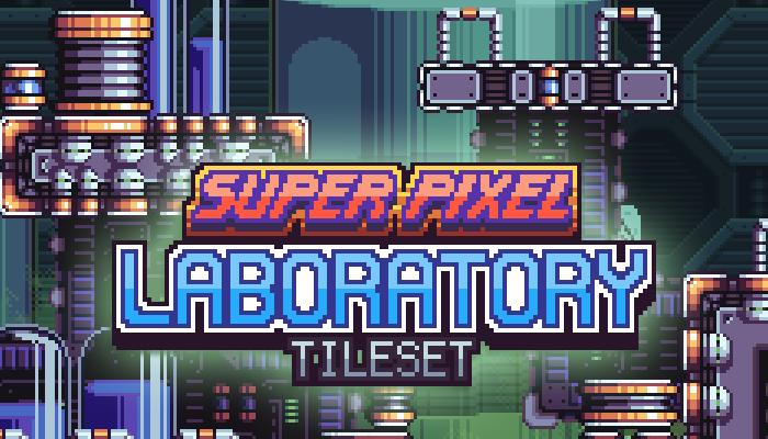 Super Pixel Laboratory Tileset