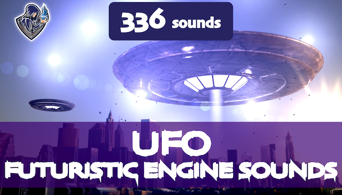Futuristic Engine Sounds: UFO