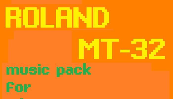 Roland MT-32 retro Adventure Games Music Pack