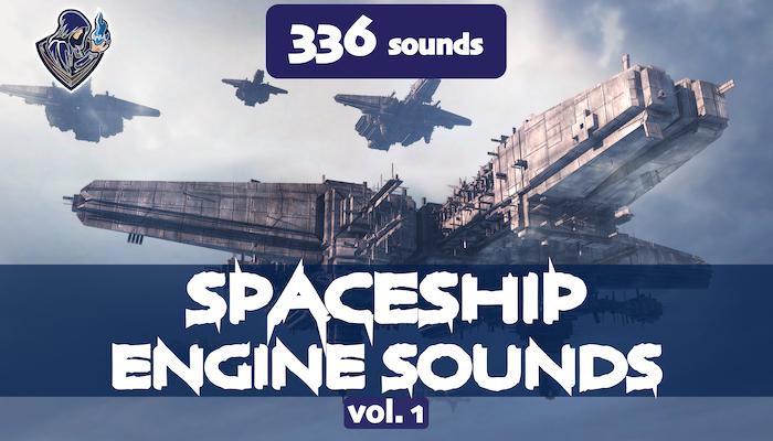 Spaceship Engine Sounds Vol. 1