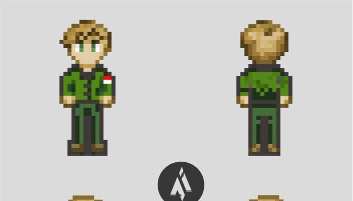 2D character concept