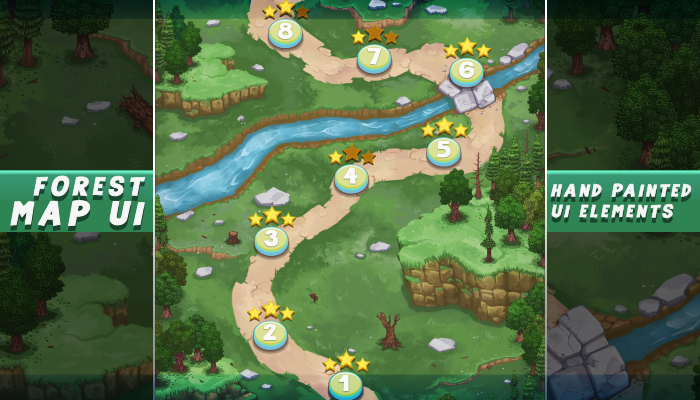 Forest Map UI
