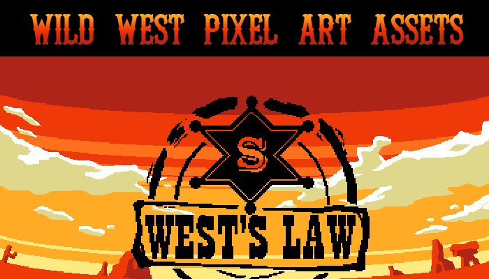 Wild West Pixel Art Assets