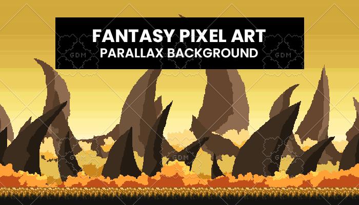 Fantasy PixelArt Background