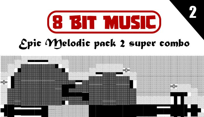 8 bit music epic melodic pack 2