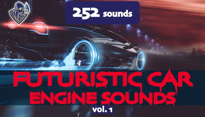 Futuristic Car Engine Sounds Vol. 1