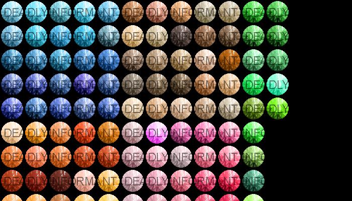English Round Cut Gemstones [48×48]