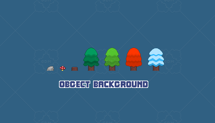 game assets background objects pack