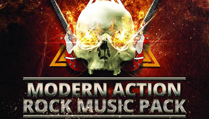Modern Action Rock Music Pack