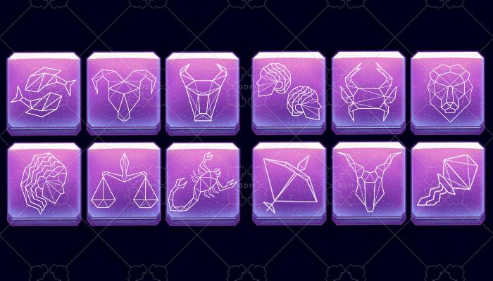 Asset Zodiac signs Light theme