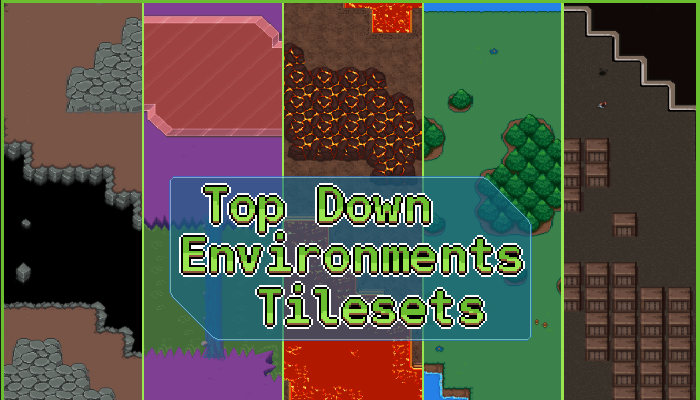 Top-down Environments Tilesets