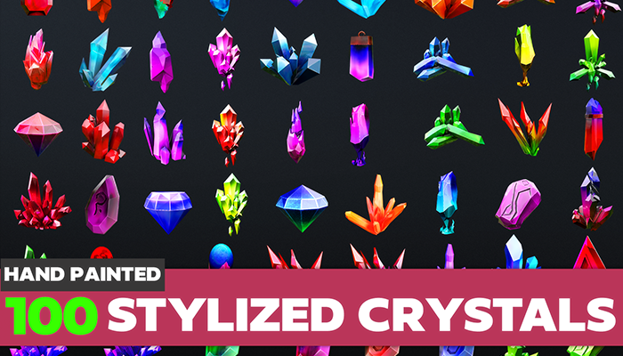 Stylized Crystal Collection