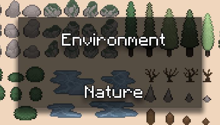 Natural Environment Pixel Art