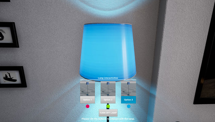Interactive Room UE4