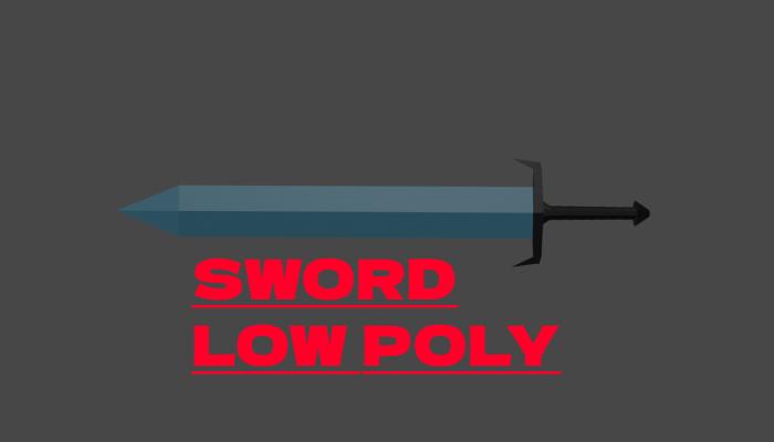 SWORD LOW POLY
