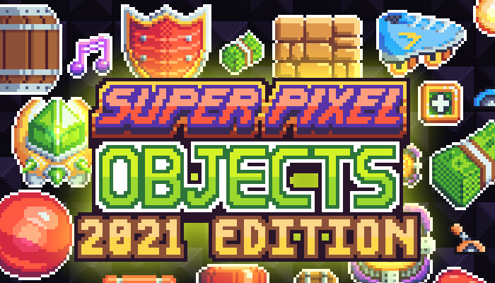Super Pixel Objects 2021 Edition