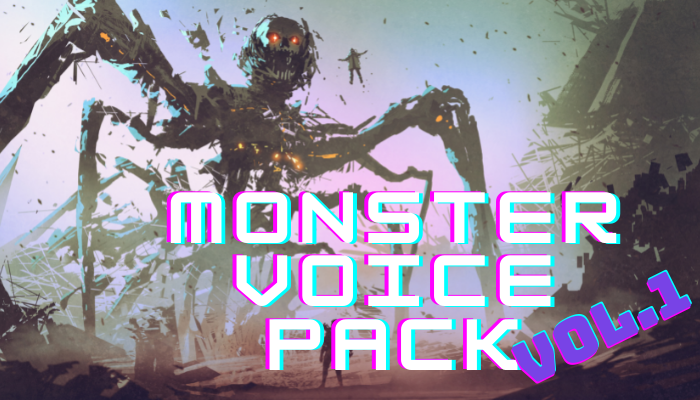 MONSTER VOICE PACK VOL.1