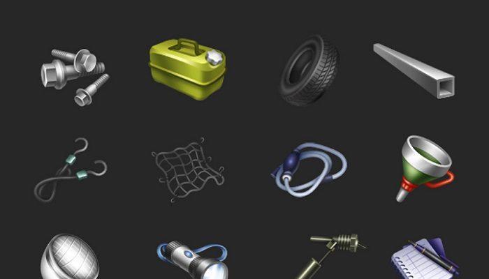 Drivers Kit Icons